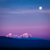 Super Moonset