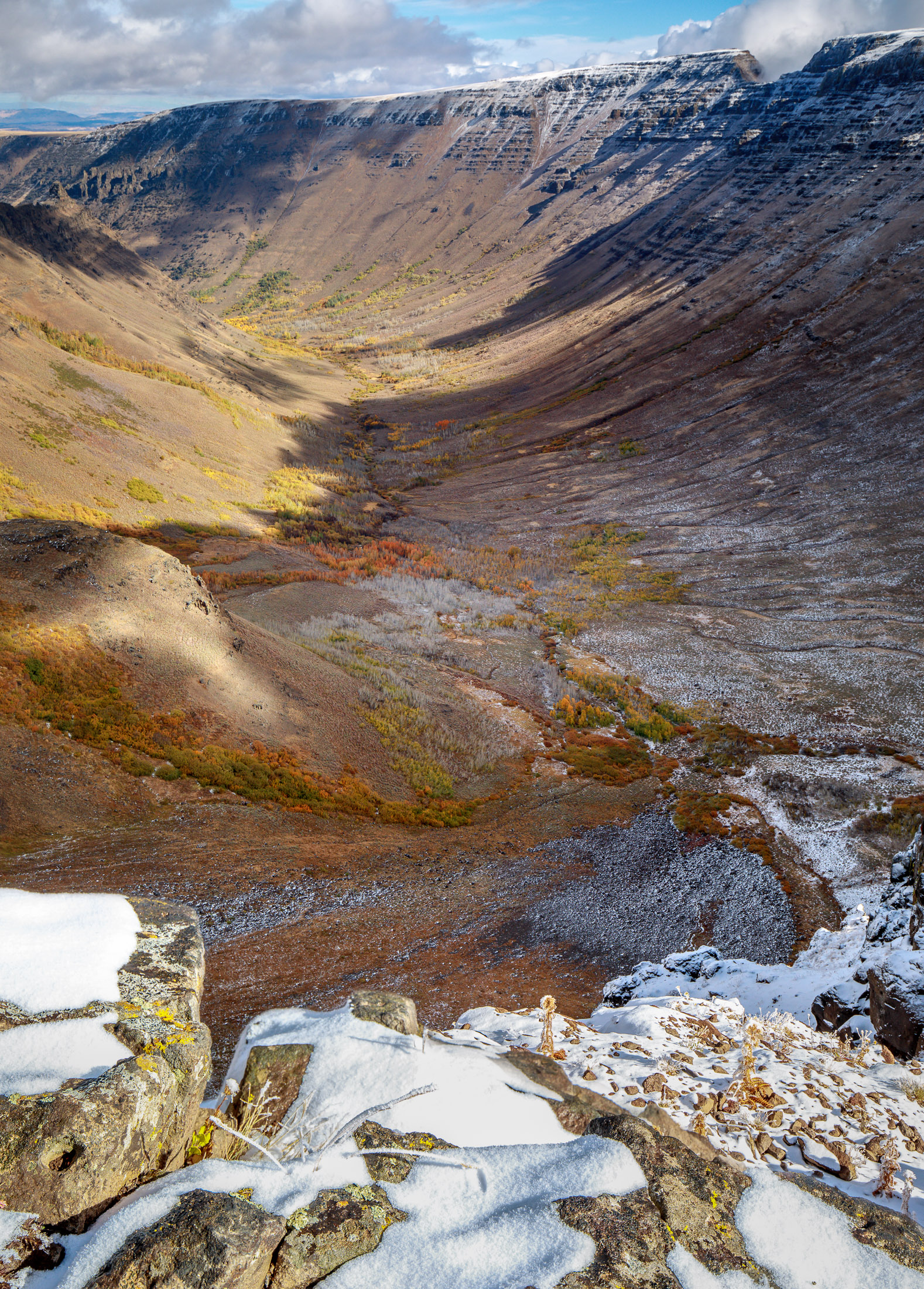 Steens Mountain's Kiger Gorge